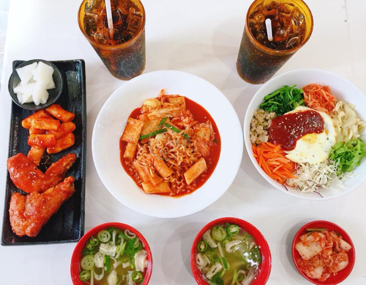 Quán ăn Hàn Quốc giá rẻ bình dân Hanuri