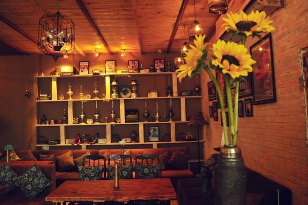 Trang trí thiết kế quán cà phê