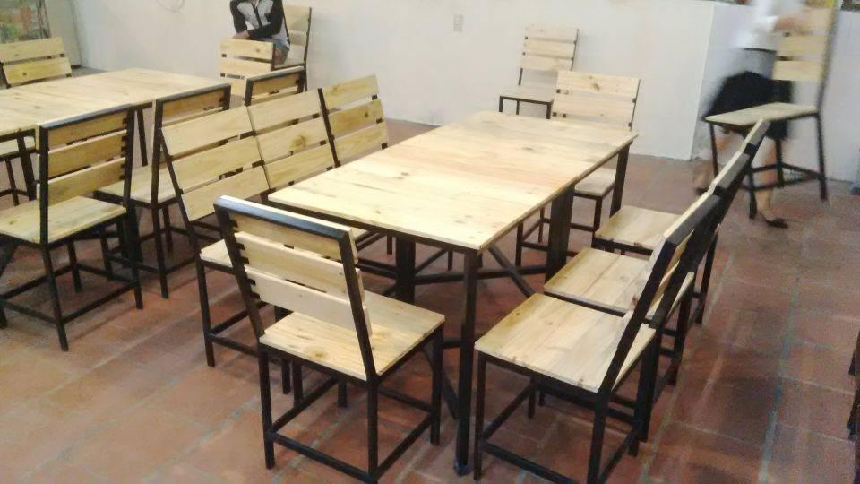 bàn ghế cho nhà hàng