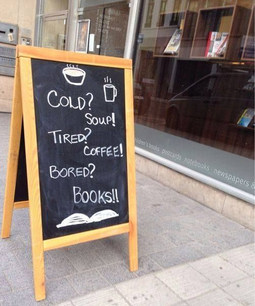 quảng bá quán cà phê