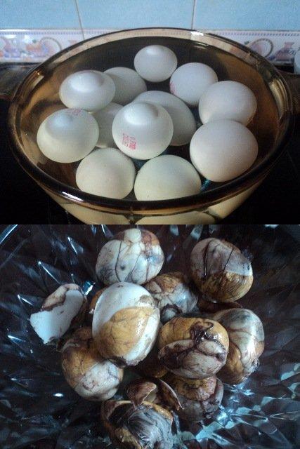 cách làm trứng vịt lộn xào me