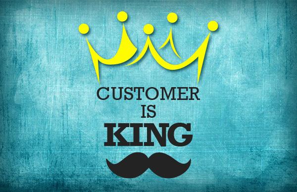 khách hàng là thượng đế